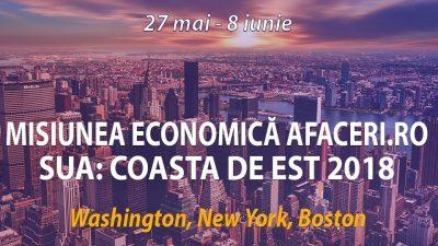 Misiune economica pe coasta de Est a Statelor Unite