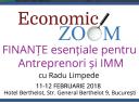 Training si Workshop de Analiza Financiara: prag de rentabilitate, modelare financiara a Planului de Afaceri, rate cheie, Evaluarea Firmei