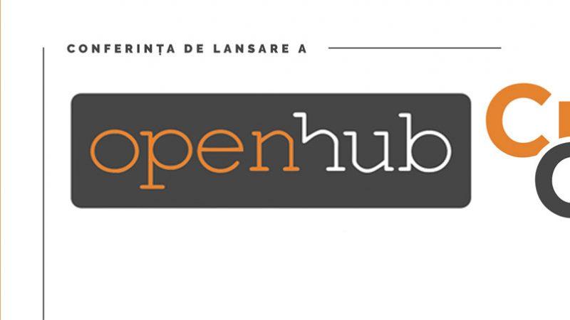 """Conferinta de lansare a Clusterului Inovativ """"Open Hub"""" Galati"""