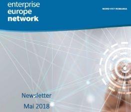 Buletinul informativ al Retelei Enterprise Europe Network – mai 2018