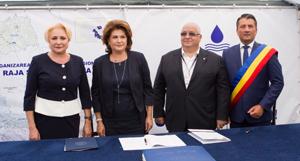 Proiect de 600 milioane euro privind dezvoltarea infrastructurii de apa, semnat de ministrul Fondurilor Europene la Constanta