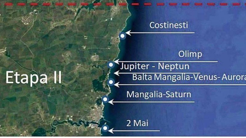 """POIM: A fost semnat contractul de finantare pentru proiectul """"Reducerea eroziunii costiere Faza a II-a"""""""