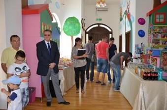 La Slobozia s-a inaugurat un spatiu de joaca modern pentru copii, finantat prin Regio!
