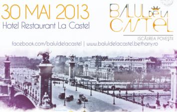Balul de La Castel isi redeschide portile in intampinarea elegantei si generozitatii oaspetilor ieseni