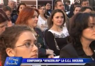 Conferinta Afaceri.ro de la Suceava, 19 aprilie