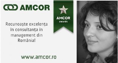 """INTERVIU Teodora Buga, manager comunicare AMCOR: """"Prin intermediul AMCOR Awards, reusitele consultantei in management din Romania vor concura cu cele de la nivel international"""""""