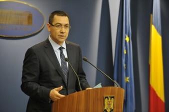Premierul Ponta cere finantarea sporturilor din fonduri europene