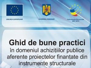 ANRMAP a editat un Ghid de bune practici pentru achizitiile publice din fonduri structurale