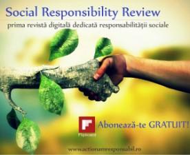 "A aparut ""Social Responsibility Review"" – prima revista digitala dedicata responsabilitatii sociale"
