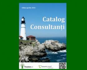 Finantare.ro va prezinta Catalog Consultanti in format PDF – editia aprilie 2014