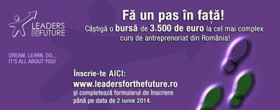 "A treia editie ""Leaders for the future"" a ajuns la final"