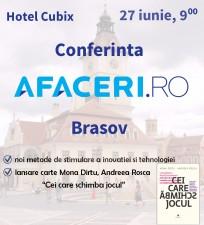 Noi tehnologii si antreprenoriat: subiectele de dezbatere ale Conferintei Afaceri.ro Brasov 2014