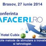 Banner Conferinta Afaceri.ro Brasov 300x250 px