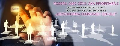 Finantare nerambursabila de 200 milioane euro disponibila pentru Dezvoltarea Economiei Sociale