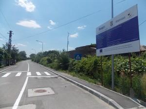 Infrastructura rutiera a orasului Topoloveni, reabilitata cu fonduri Regio
