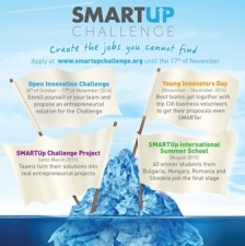 SmartUp Challenge – programul destinat tinerilor antreprenori