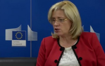 Comisarul Corina Cretu a aprobat investitii de peste 57 milioane euro in domeniul apei potabile in judetul Caras-Severin