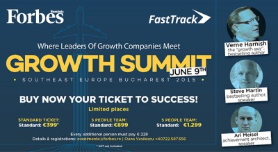 SEE Growth Summit – cel mai relevant eveniment de management, in premiera in Romania