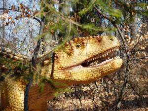 La Rasnov se afla cel mai mare parc cu dinozauri in marime naturala din Europa de Sud-Est finantat cu fonduri REGIO