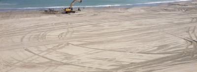 Plajele din sudul litoralului, extinse cu cateva zeci de hectare cu ajutorul fondurilor europene