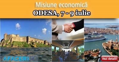 (P) Dezvolta-ti afacerea participand la Misiunea economica Afaceri.ro Odesa