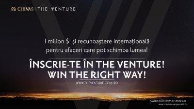 Chivas The Venture – competitia pentru afacerile cu impact social