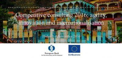 Conferinta internationala a consultantilor, Tibilisi, 3-4 noiembrie