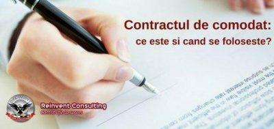 (P) Contractul de comodat – act absolut necesar la infiintarea unei firme, la stabilirea sau schimbarea sediului social