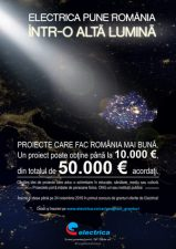 Start in Programul de Granturi – Electrica pune Romania intr-o alta lumina