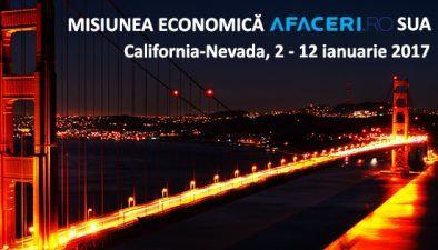 (P) Afaceri.ro, pentru prima data in Statele Unite cu o misiune economica dedicata companiilor din IT, Mobile si alte domenii