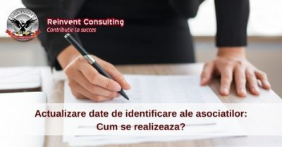 (P) Cum se realizeaza actualizarea datelor de identificare ale asociatilor unei firme?