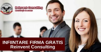 (P) Infiintare firma gratis Reinvent Consulting
