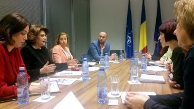 Consultari intre ministrul Rovana Plumb si societatea civila pentru relansarea apelurilor aferente obiectivelor specifice 4.1 si 4.2 din POCU