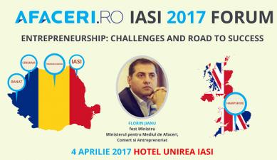 (P) Florin Jianu va fi prezent la Iasi pe 4 aprilie, la Forumul Afaceri.ro