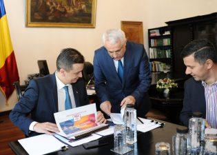 Vizita Premierului Sorin Grindeanu la Ministerul Agriculturii si Dezvoltarii Rurale