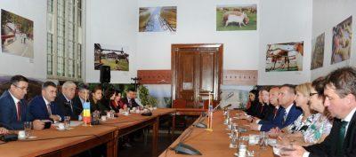 Conducerea MADR a primit vizita unei delegatii parlamentare din Cehia