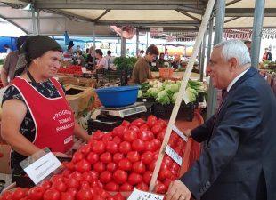 Tomate romanesti in toate pietele agroalimentare din Bucuresti