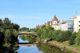 Rovana Plumb a semnat un contract de 14 milioane euro pentru redeschiderea navigatiei pe Canalul Bega