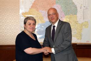 Intrevederea viceprim-ministrului Sevil Shhaideh cu ambasadorul Republicii Federale Germania, E.S. Cord Meier-Klodt