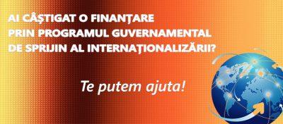 Sprijin pentru castigatorii unei finantari prin programul de incurajare a internationalizarii