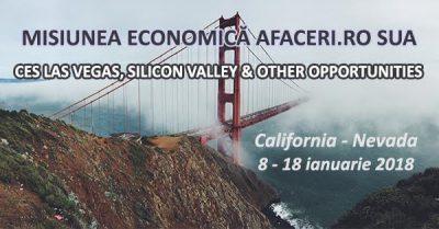 A treia editie a unei misiuni economice Afaceri.ro in Statele Unite va avea loc in luna ianuarie 2018