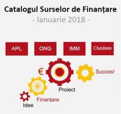 Catalogul surselor de finantare in Regiunea Nord-Est – ianuarie 2018