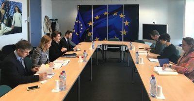 Rovana Plumb, la Bruxelles: Ne intalnim cu oficialii europeni pentru a stabili impreuna masuri care sa sporeasca atragerea si eficienta cheltuirii fondurilor europene in Romania