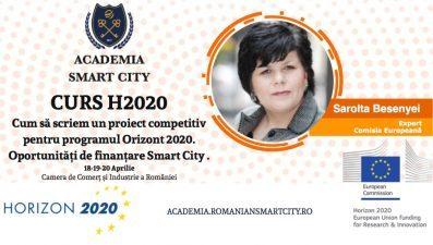 Cum sa scriem un proiect competitiv pentru programul Orizont 2020 – oportunitati de finantare Smart City