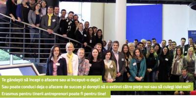 Asociatia Reginnova NE lanseaza la Iasi programul european Erasmus pentru tinerii antreprenori, ciclul 10