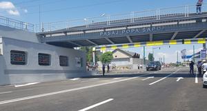 A fost inaugurat pasajul Popa Sapca din Timis, care a trecut prin ample lucrari de modernizare