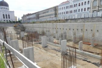 """Parcare subterana """"park & ride"""", cu fonduri europene, pentru turisti si navetisti, in Oradea"""