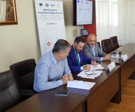 Scoala Gimnaziala Avram Iancu din Arad primeste fonduri europene prin Regio – Programul Operational Regional 2014-2020 pentru reabilitare termica