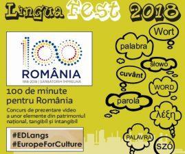 Castiga o bicicleta la concursul LinguaFEST – 100 de minute pentru Romania!