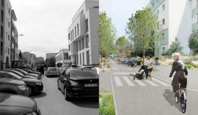 Cum va arata prima strada smart la Cluj, cu stalpi de iluminat cu wifi si banci cu incarcare USB